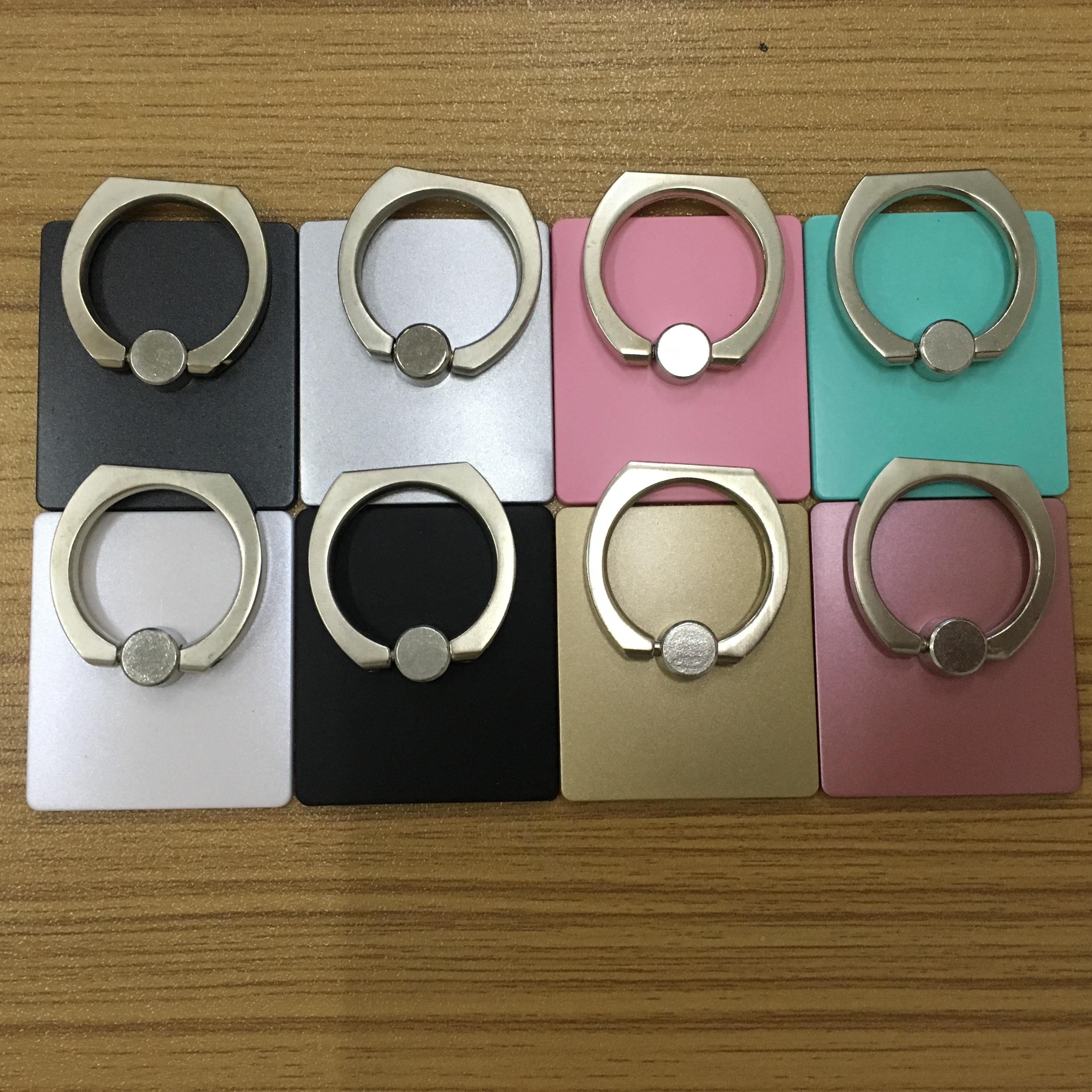 东兴定做手机支架iring指环扣小礼品指环支架定制订做二维码淘者