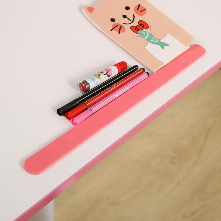 档书条儿童桌椅专用配件买2条送2条防滑条学习书桌通用挡书条
