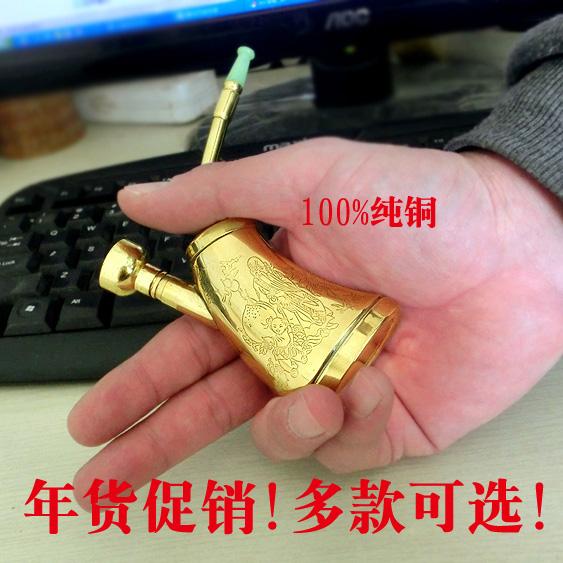 烟具个性全套礼品复古号阿拉伯老式纯铜水烟斗大号过滤器特产小号