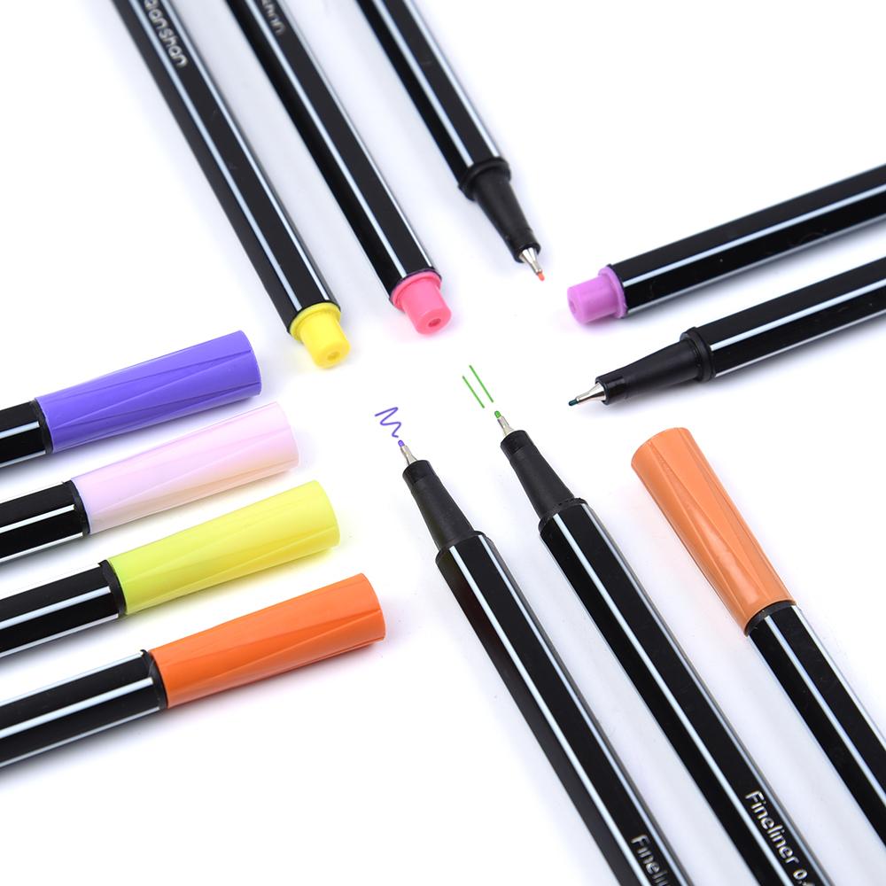 Цвет крюк линии ручка игла карандаш металлические волокна написано цвет нейтральный ручка 36 акварель пена крюк акварель