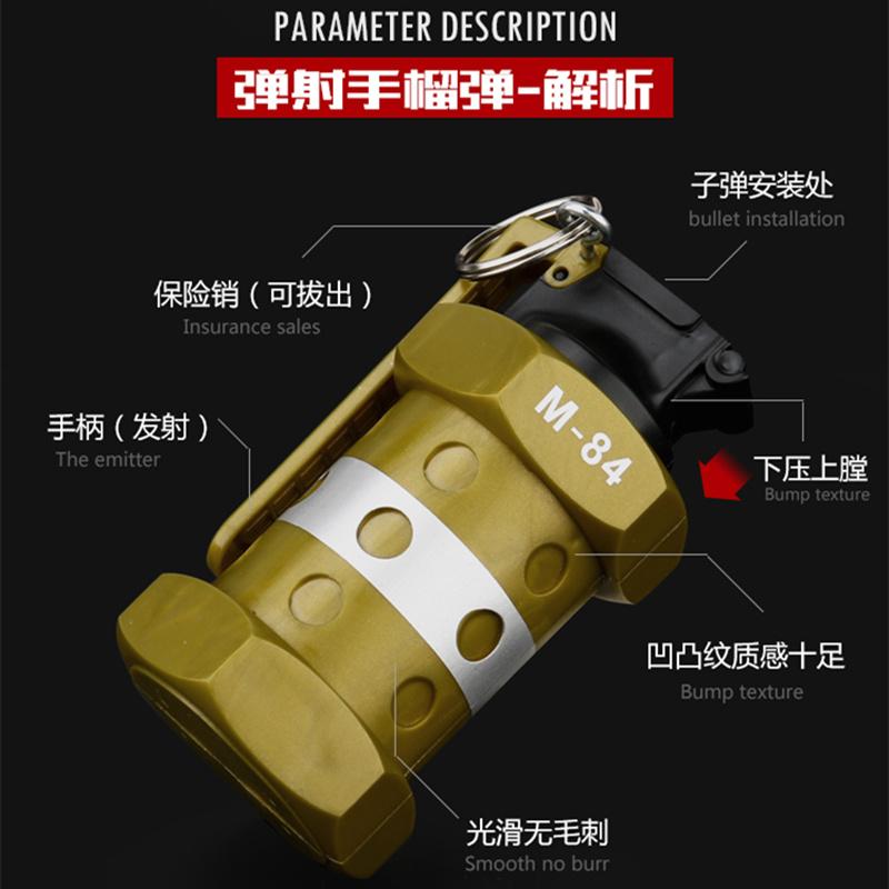 新款儿童玩具枪手榴水弹抢水晶弹PP软弹枪成人真人cs对战玩具