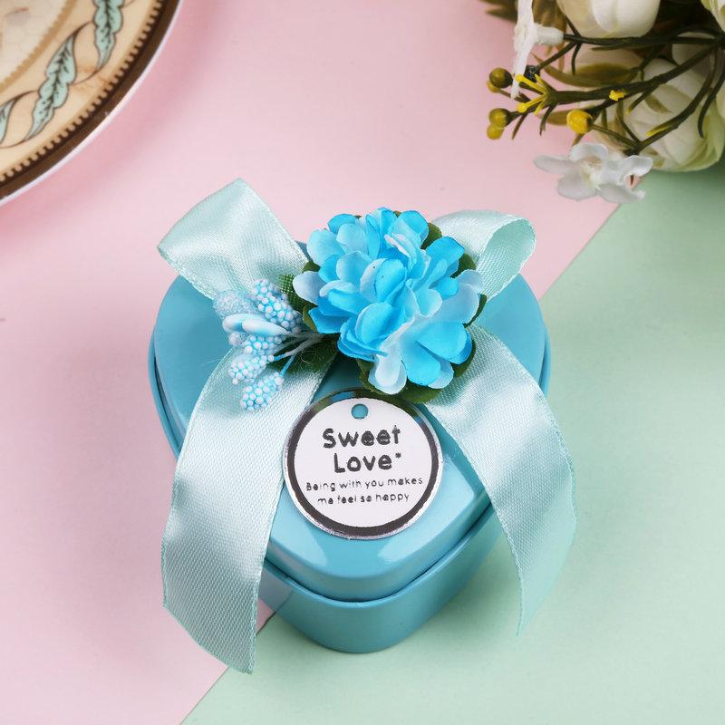 成品含糖 费列罗巧克力2颗粒装结婚婚庆喜糖回礼礼品盒马口铁礼盒
