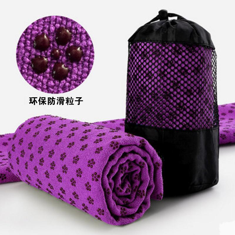 瑜伽垫布铺巾瑜伽铺巾瑜伽毯子防滑瑜珈垫送网袋