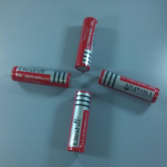 18650锂电池可毫安式超亮3.7v4800充电1860头灯强光手电筒18560