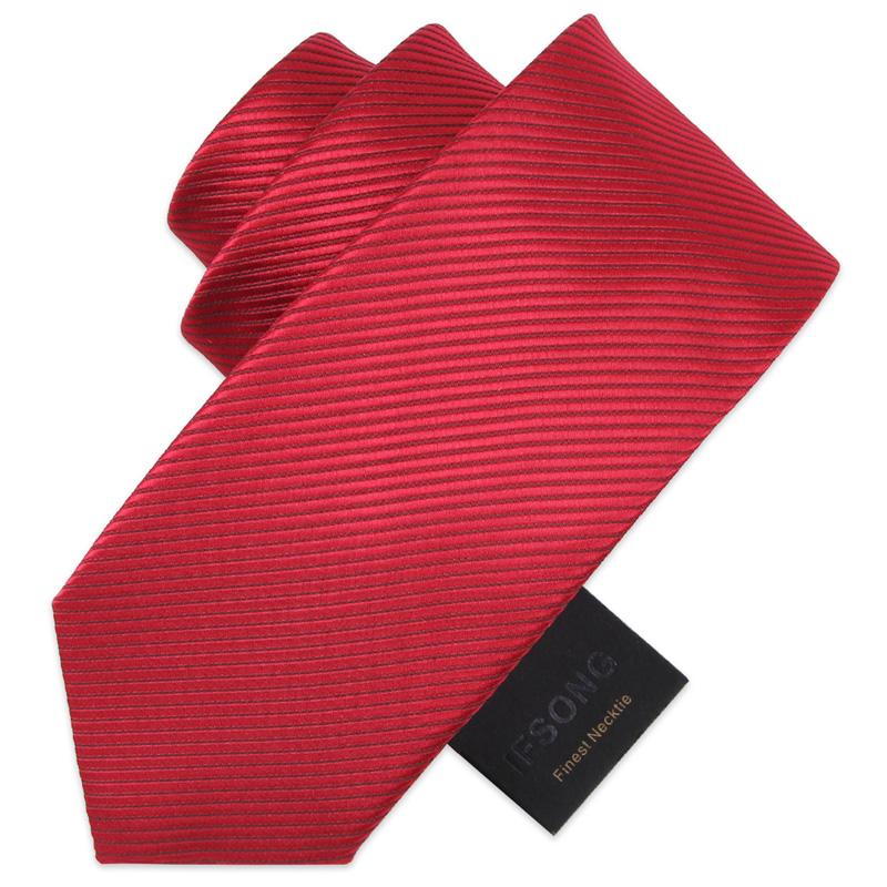爆款IFSONG领带男正装商务 新郎结婚职业正式宽领带绿色黄色紫色8
