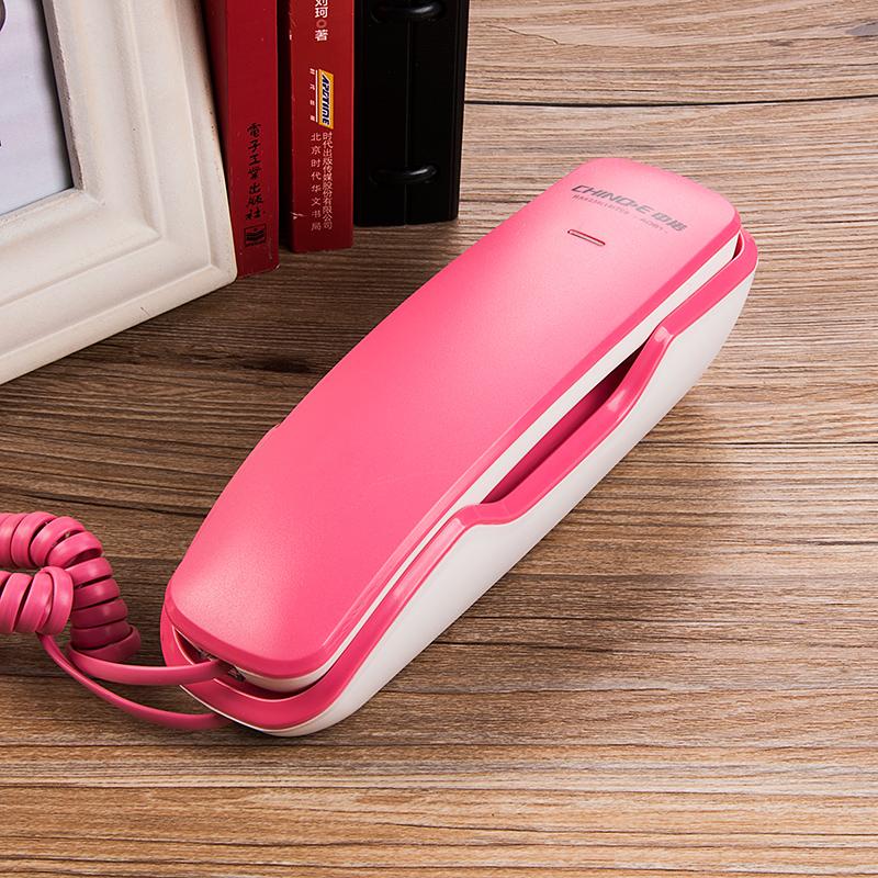 新款电话机酒店宾馆家用床头浴室壁式小分机迷你壁挂固定座机