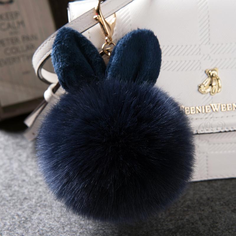 挂件可爱装饰品衣服装饰毛绒光滑小毛球新款兔毛小毛毛球毛球潮爆