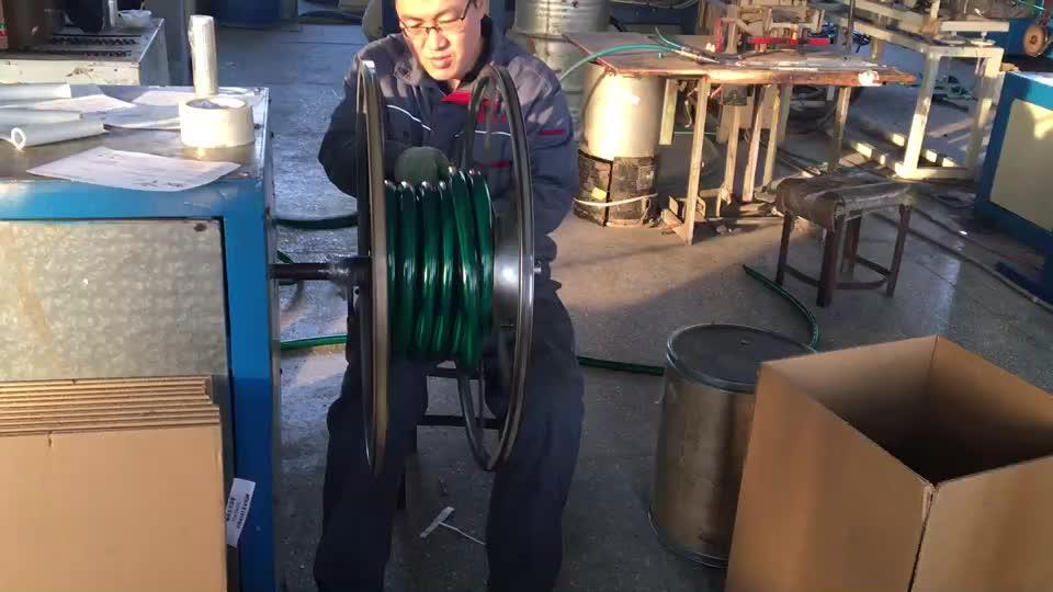 Pvc selang pembuangan saluran fleksibel pipa Disesuaikan warna/ukuran taman air hose dengan connector reel