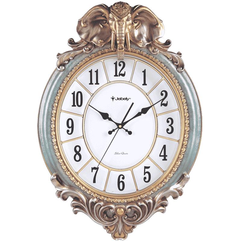 欧式挂钟客厅大象石英钟表