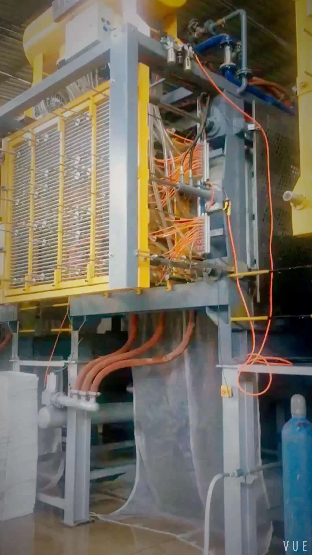 EPS Köpük Balık Kutusu Yapma Makinesi