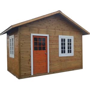 定制户外组装防腐木木房子小木屋