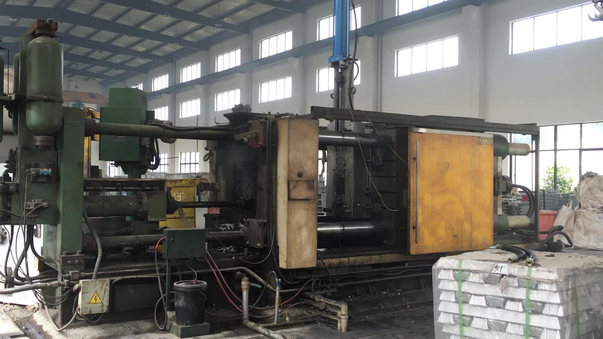 4003 Hot water Aluminum die casting radiator mould