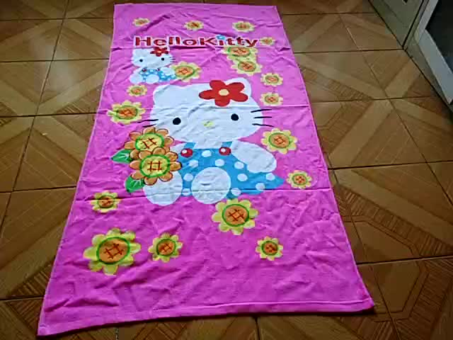 100% bamboo soft solid color piece dyed bamboo beach towel