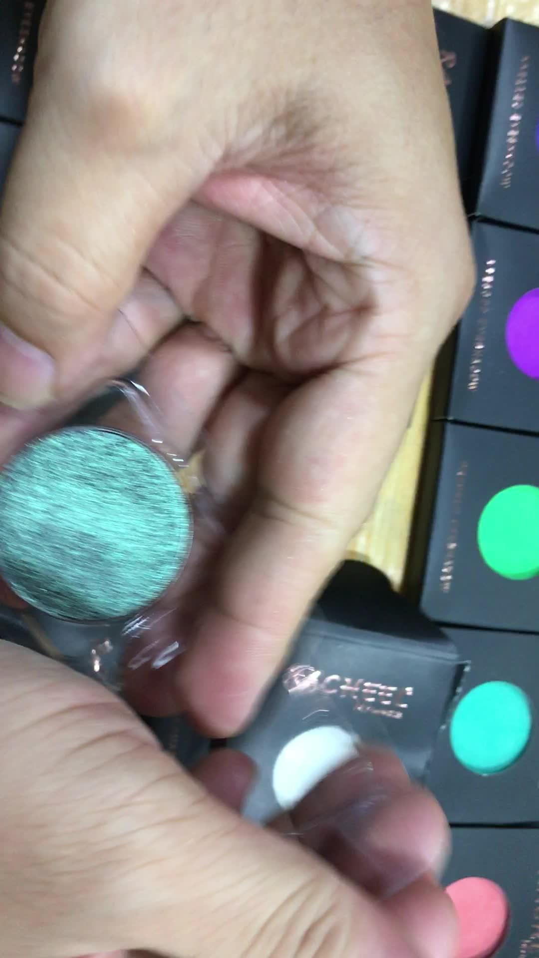 Haute pigment fard à paupières, mat et glitter fard à paupières