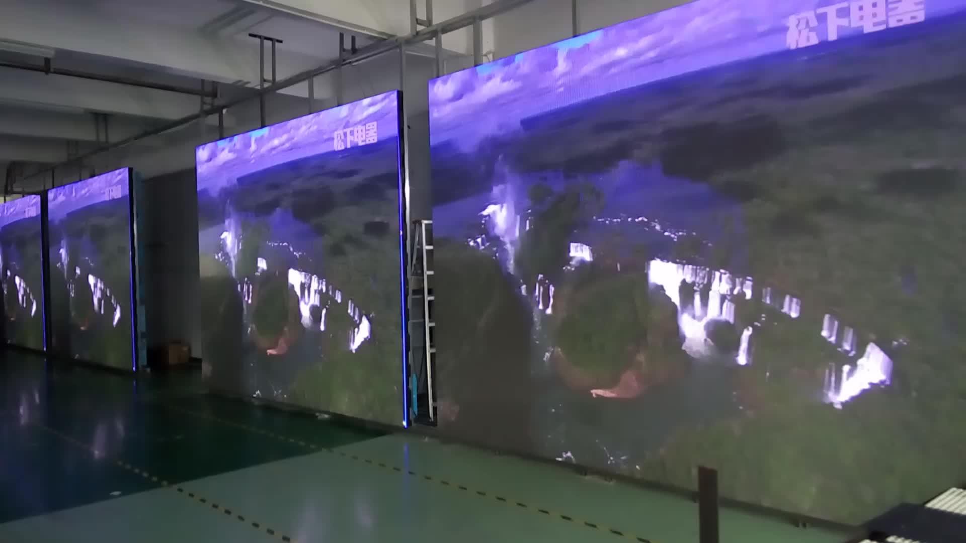 Outdoor waterproof Unilumin P4.81 led screen display advertising board IP65 LED billboard Rental Led Screen Display