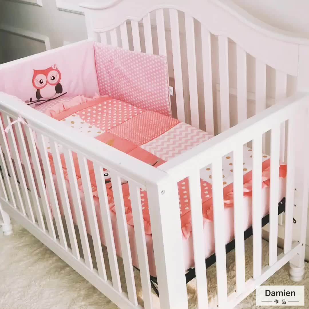Fast Supplier Best Quality Baby Crib Bedding Bumper Pads