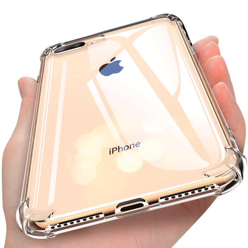 苹果6splus 7plus硅胶全包x手机壳
