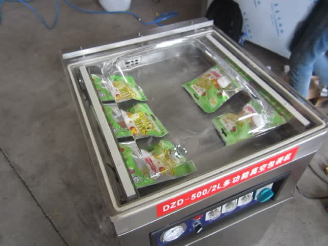 Semi auto Bag Vacuum Sealing Machine for Fresh storage