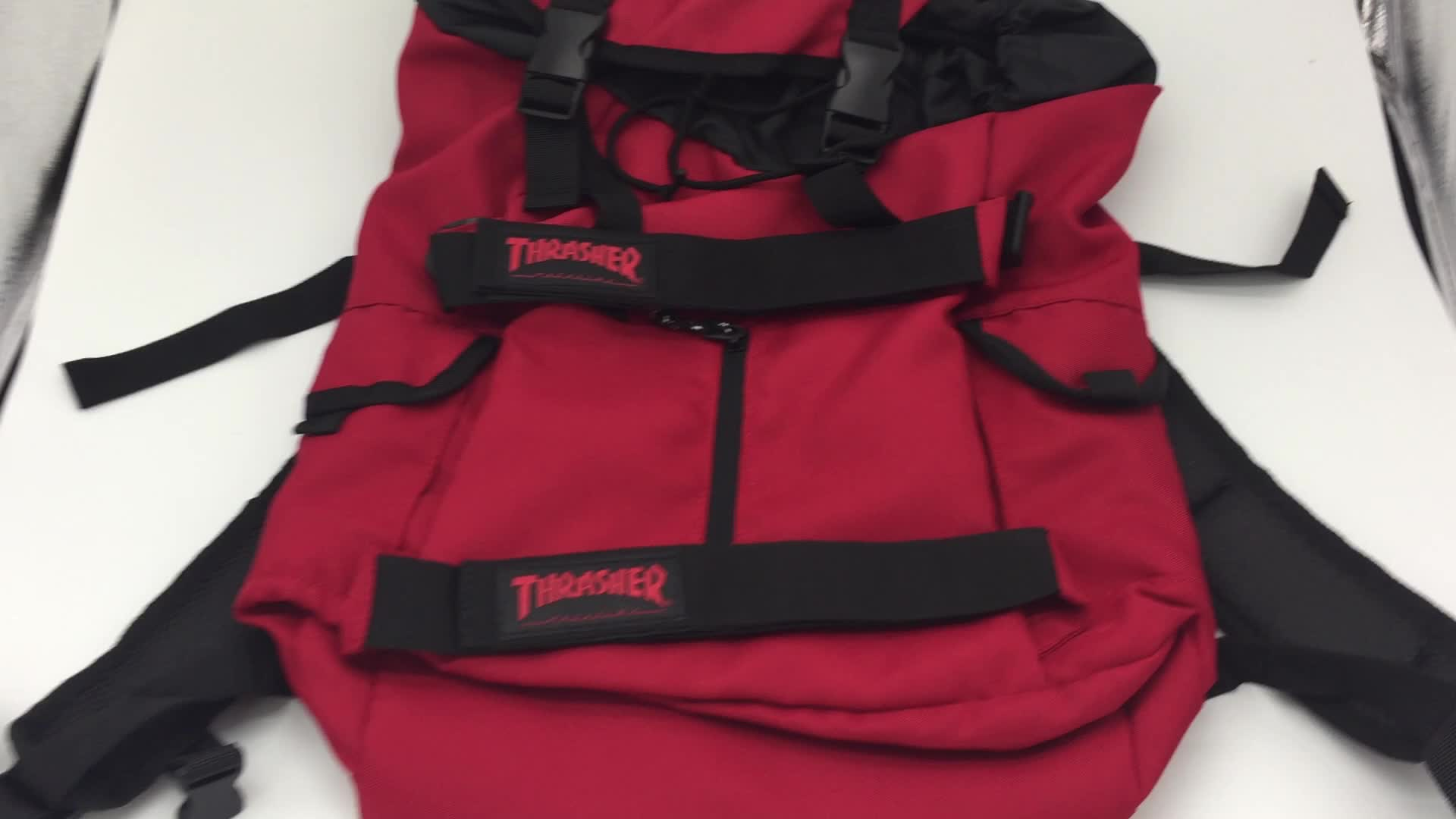 SKATERGEAR longboard กระเป๋าเป้สะพายหลังกระเป๋าสเก็ตบอร์ด