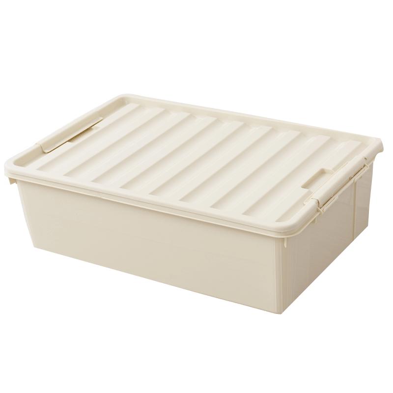 床底收纳箱床下扁平整理塑料盒特大宿舍学生储物盒子衣服箱子大号