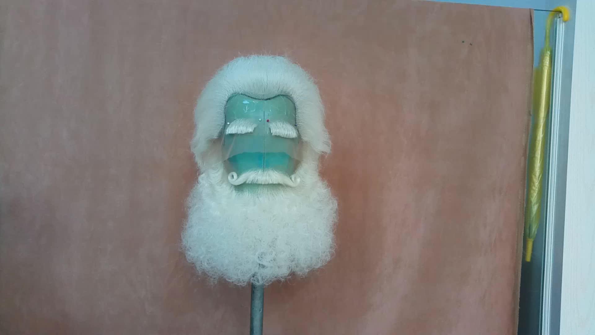 Phổ biến Santa Tim Yak Tóc Santa Claus Wig và Beard