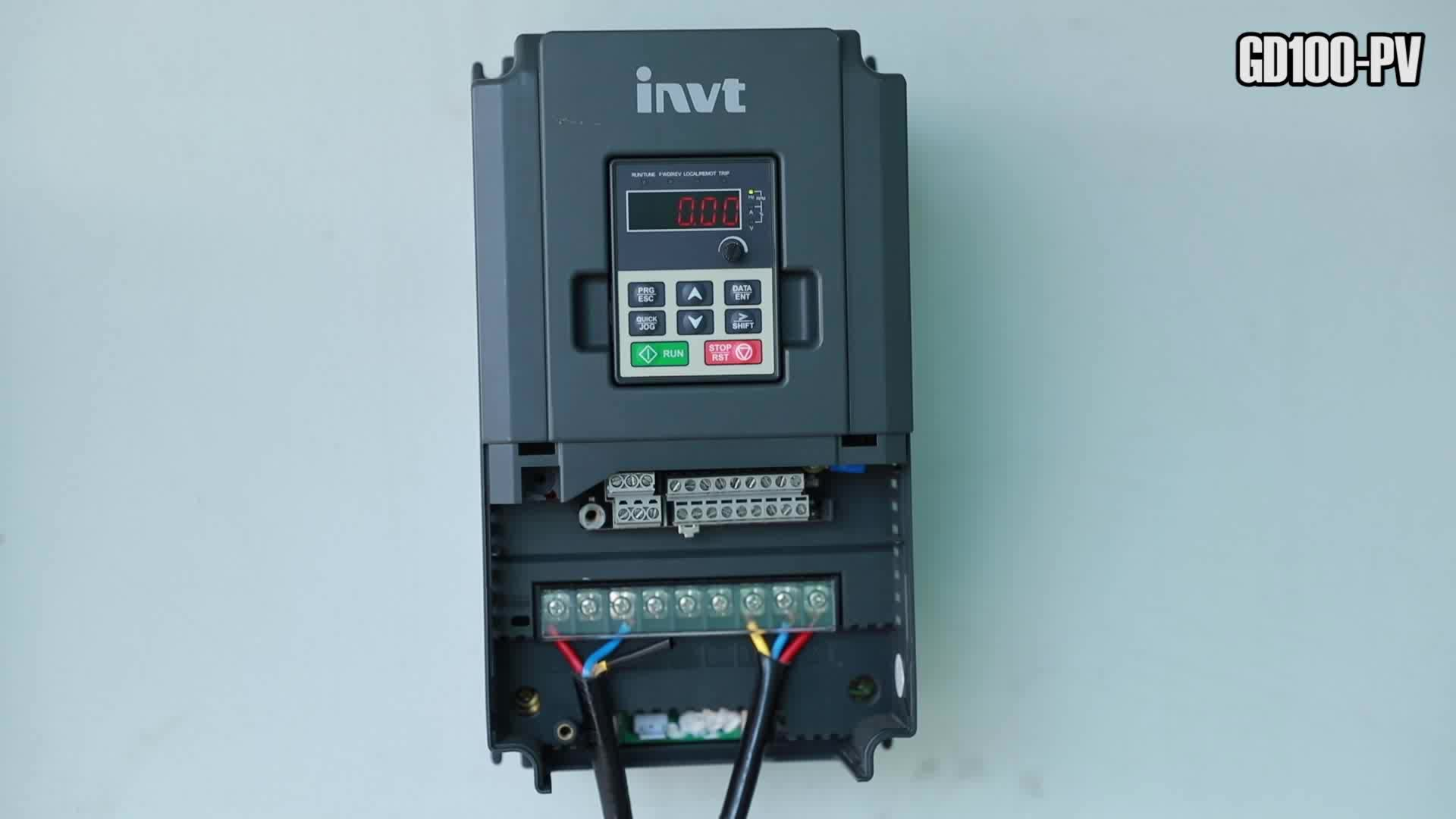 New Invt Gd100 Pv Ac 3kw 220v Solar Pump Inverter With
