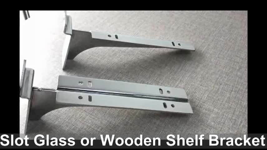2mm thickness metal bracket for glass shelves