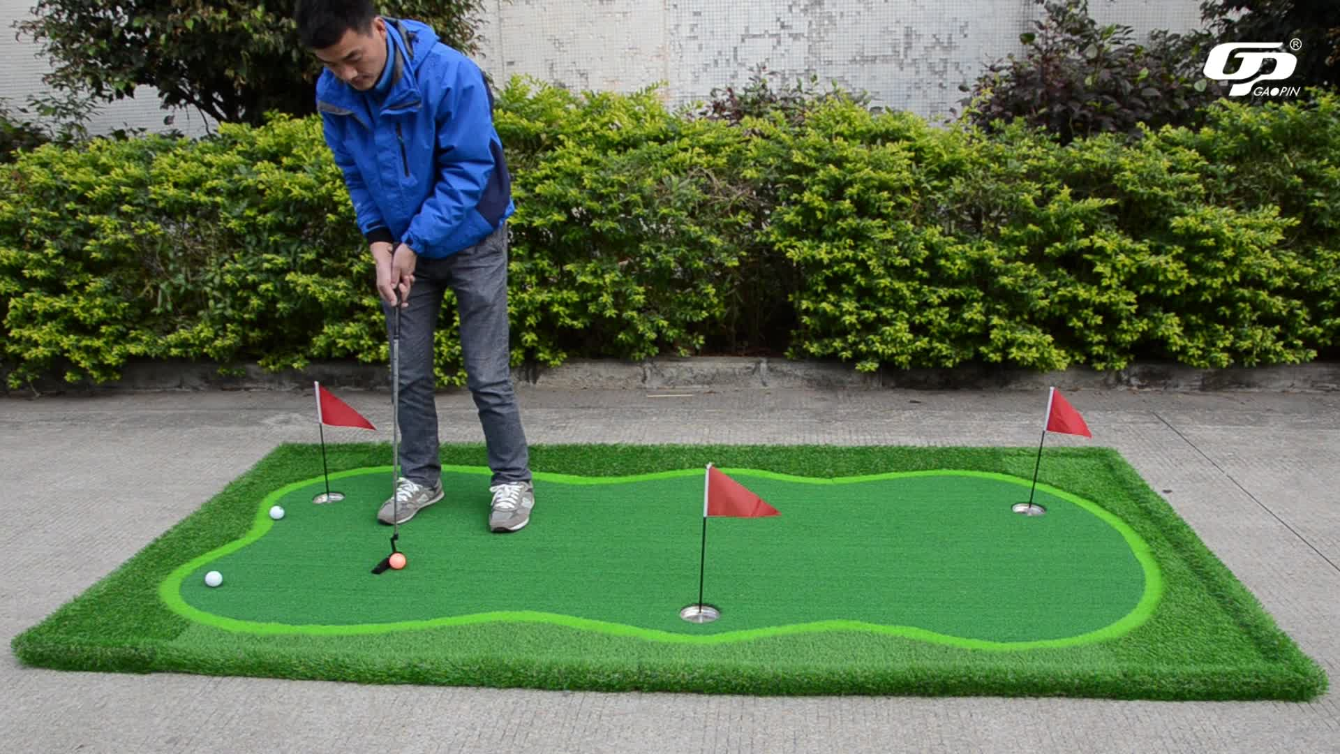 Hot Cake Used Practice Carpet Golf Putting Green Mat For Indoor ...
