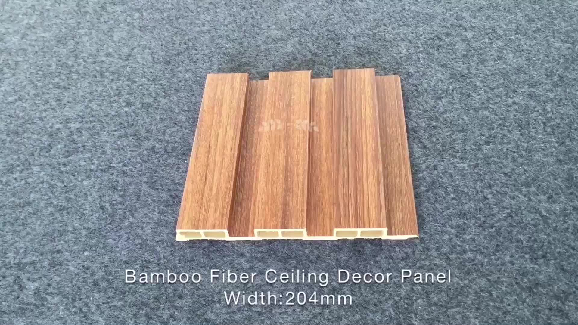 Gooday FALSO SOFFITTO interior decor soffitto piastrelle di WPC bordo fogli di plastica che copre venatura del legno PVC interni del soffitto sospeso