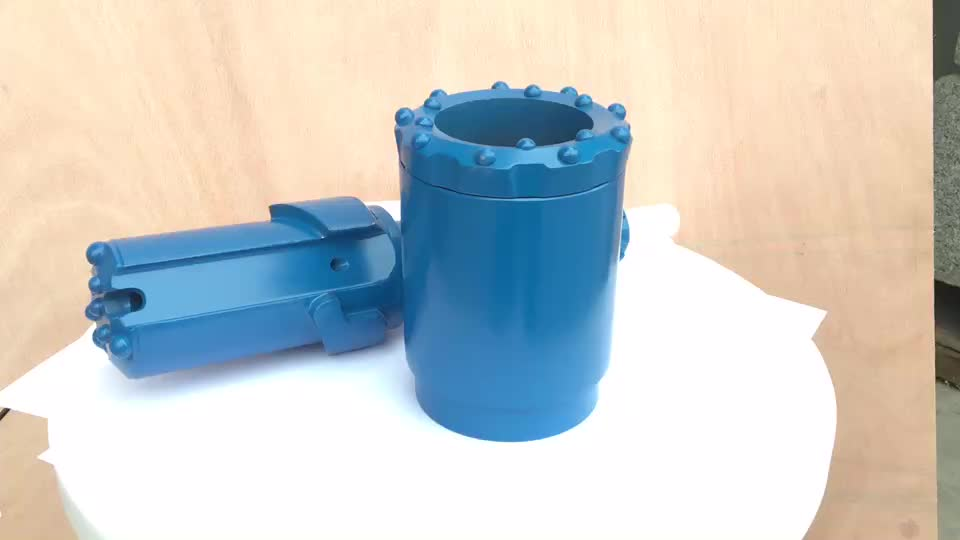 Symmetric Overburden Casing Drilling System Any Direction Drill With Ring Bit Odex Dth Hammer Bit