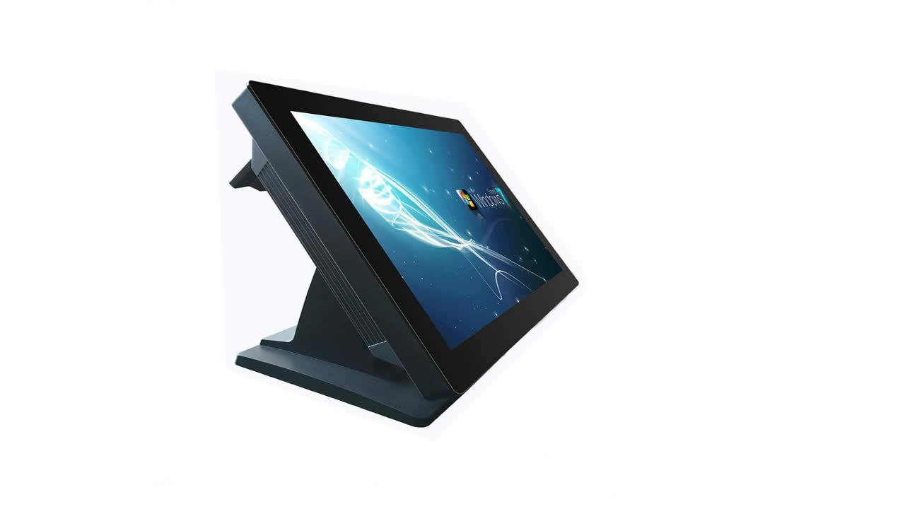 WD-1503 supermarket touch screen pos machine retail all in one pos system