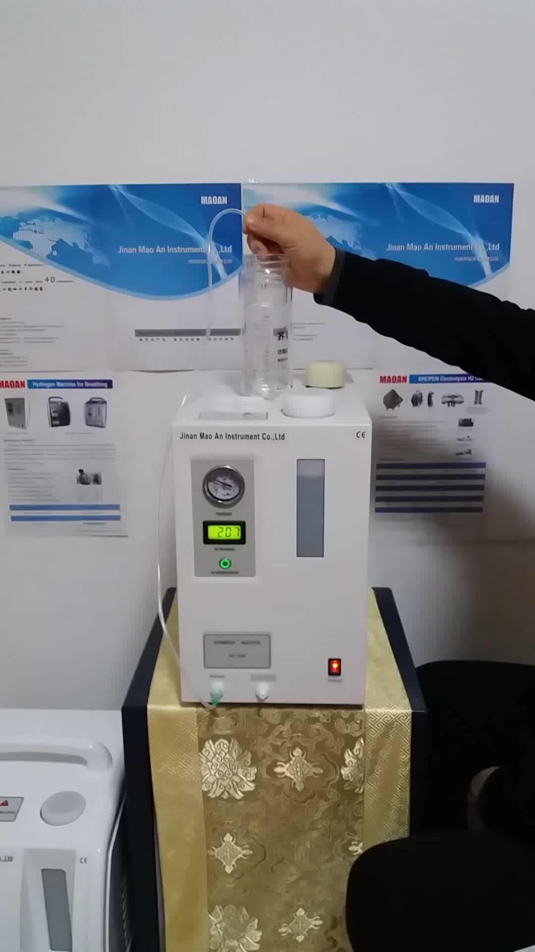 Rich Hydrogen Machine for Inhalation