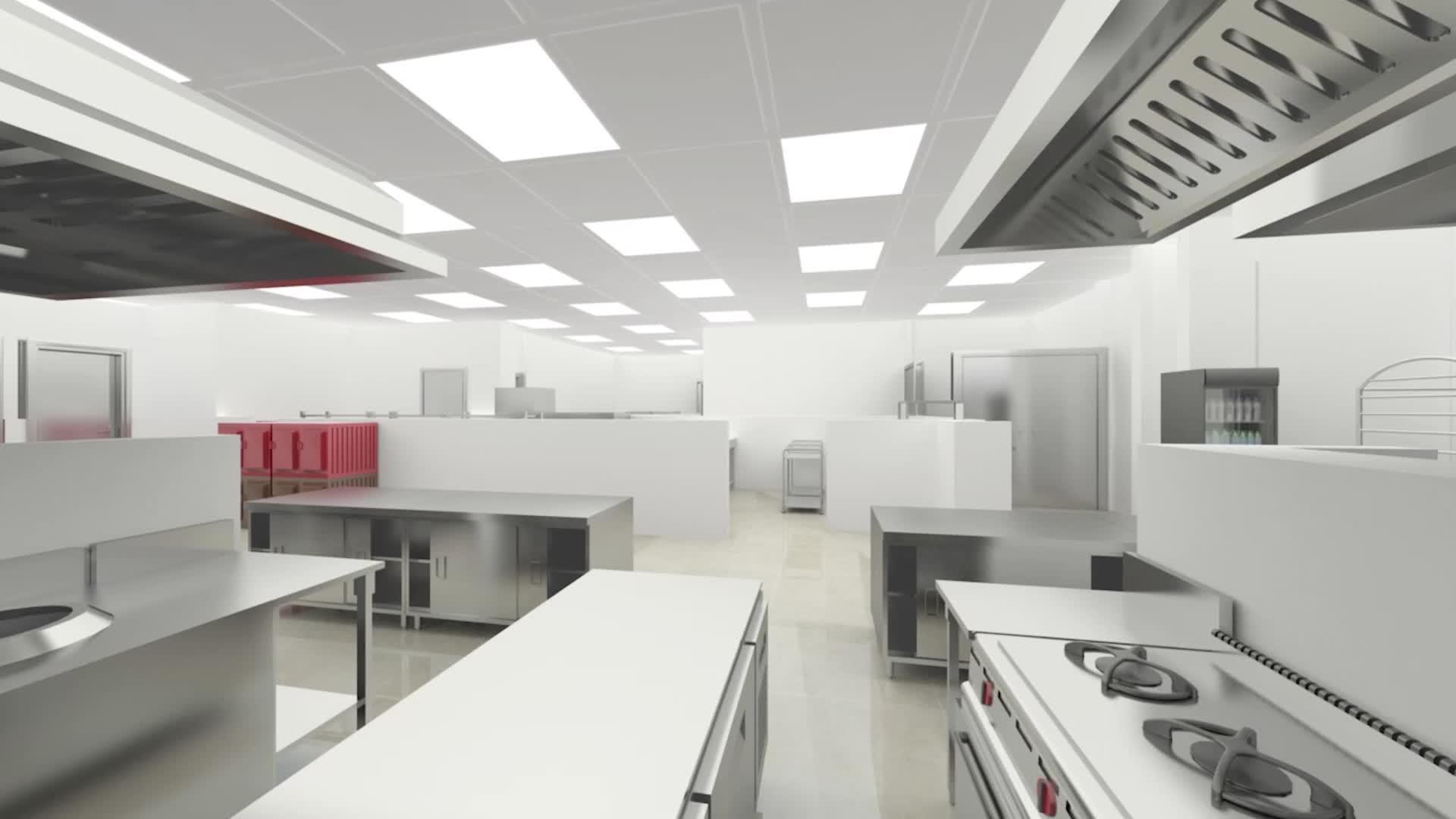 完全なソリューション設計と供給商業レストラン機器