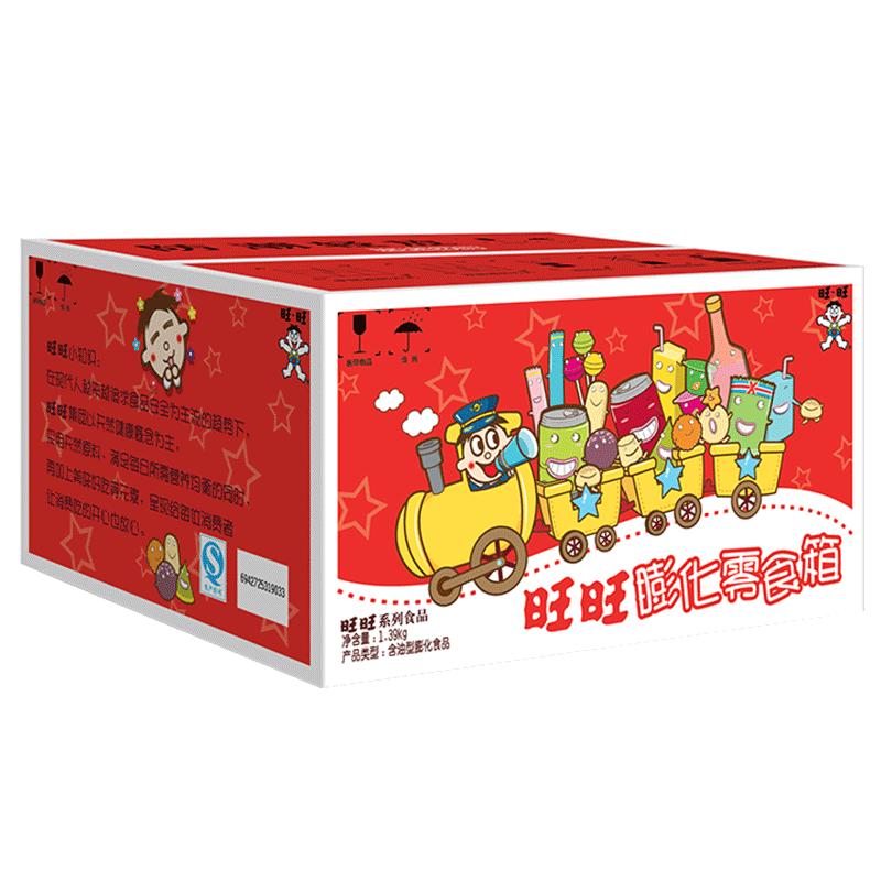 旺旺经典箱1.39 kg礼盒仙贝大礼包
