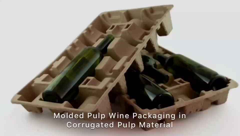 Custom Molded Pulp Inner Carton Packaging