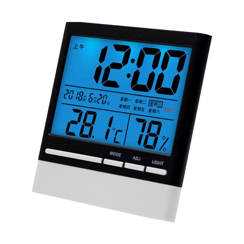 忆时电子带闹钟家用室内温湿度计质量好不好
