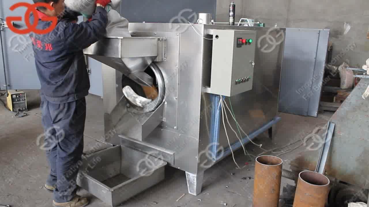 Pistachenootjes Zonnebloem Vlas Zaden Amandel Kikkererwten Soyabeen Roosteren Machines Pinda Koffiebrander Machine Voor Verkoop