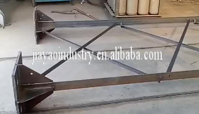 China supplier HDG steel lattice draw rope line mast wind tower guyed wire communication tower