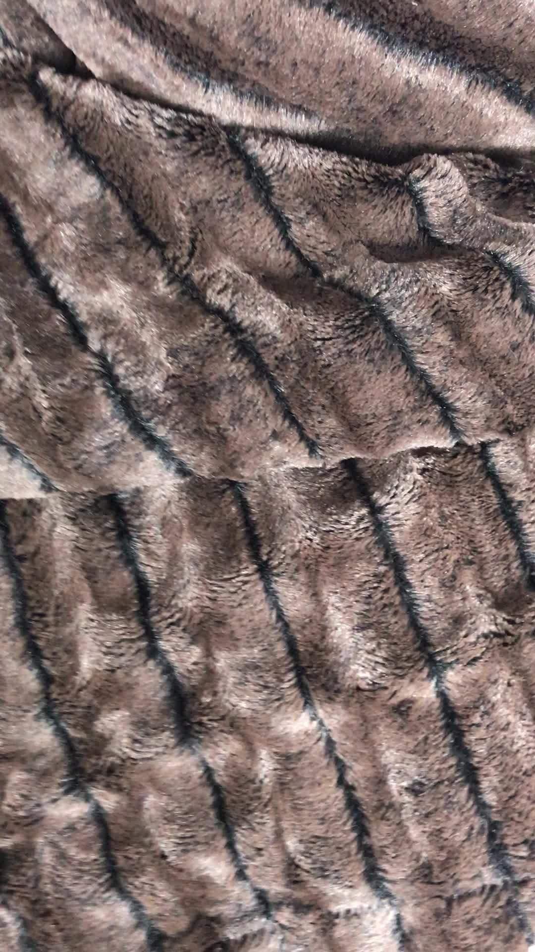 tessuto tecniche e tessile per la casa spazzolato coperta peluche