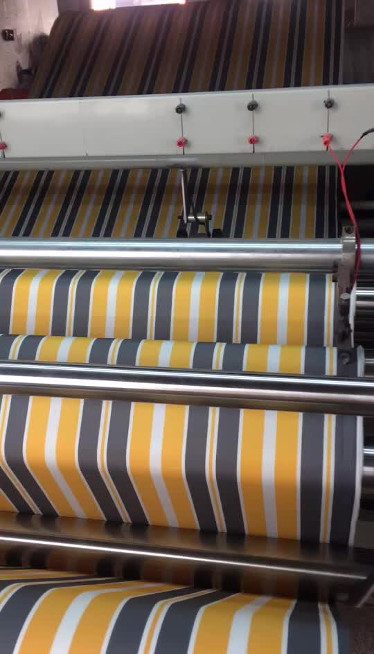 Outdoor Stripe Yarn Dyed Awning Acrylic Fabric - Buy ...