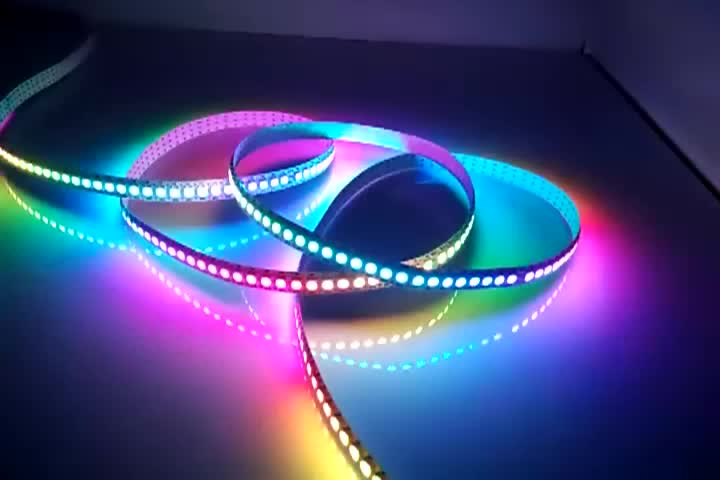 Ws2812b programmable rgbw led strip light 5050 5m remote control ws2812b programmable rgbw led strip light 5050 5m remote control5v 60 led pixel strip aloadofball Image collections