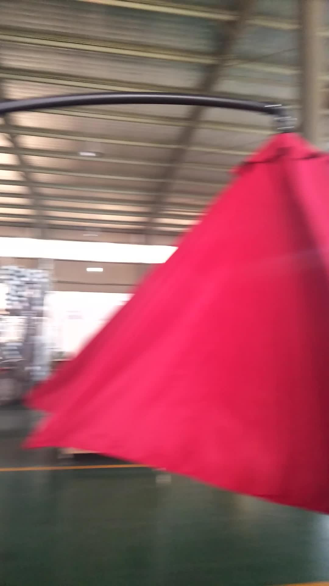 3 mt hängen sonnenschirm stahl banane outdoor-dach