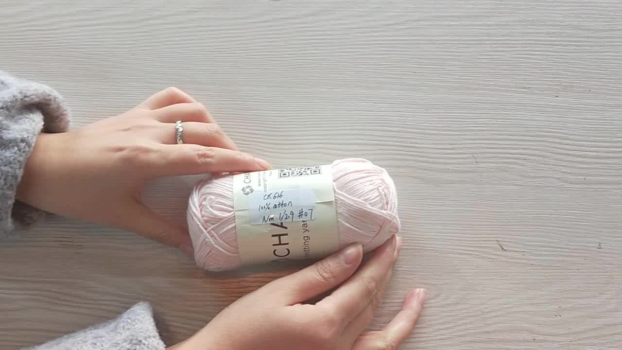 2019 new good quality 100% milk cotton yarn for baby