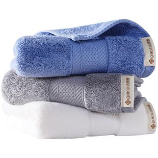 3条装洁丽雅纯棉酒店加大加厚面巾可在爱乐优品网领取5元天猫优惠券