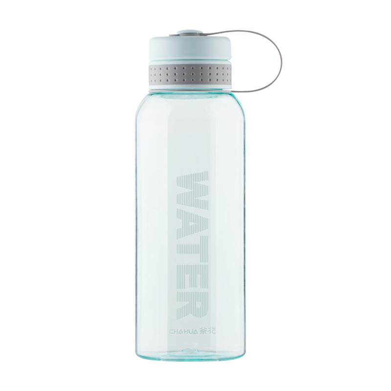 塑料便携茶花水杯