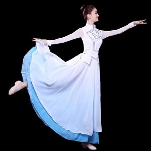 艺人舞美蒙古族舞蹈服装女演出服