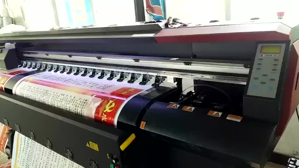 3.2m 1.8m 1.6m  large outdoor printer indoor  uv machine for canvas eco solvent inkjet printer
