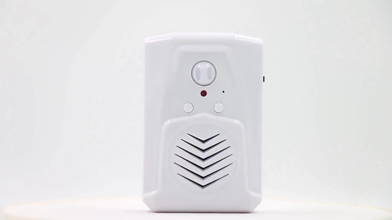 Automatic Induction Guest Welcome Alarm Wireless Infrared Motion Sensor Doorbell