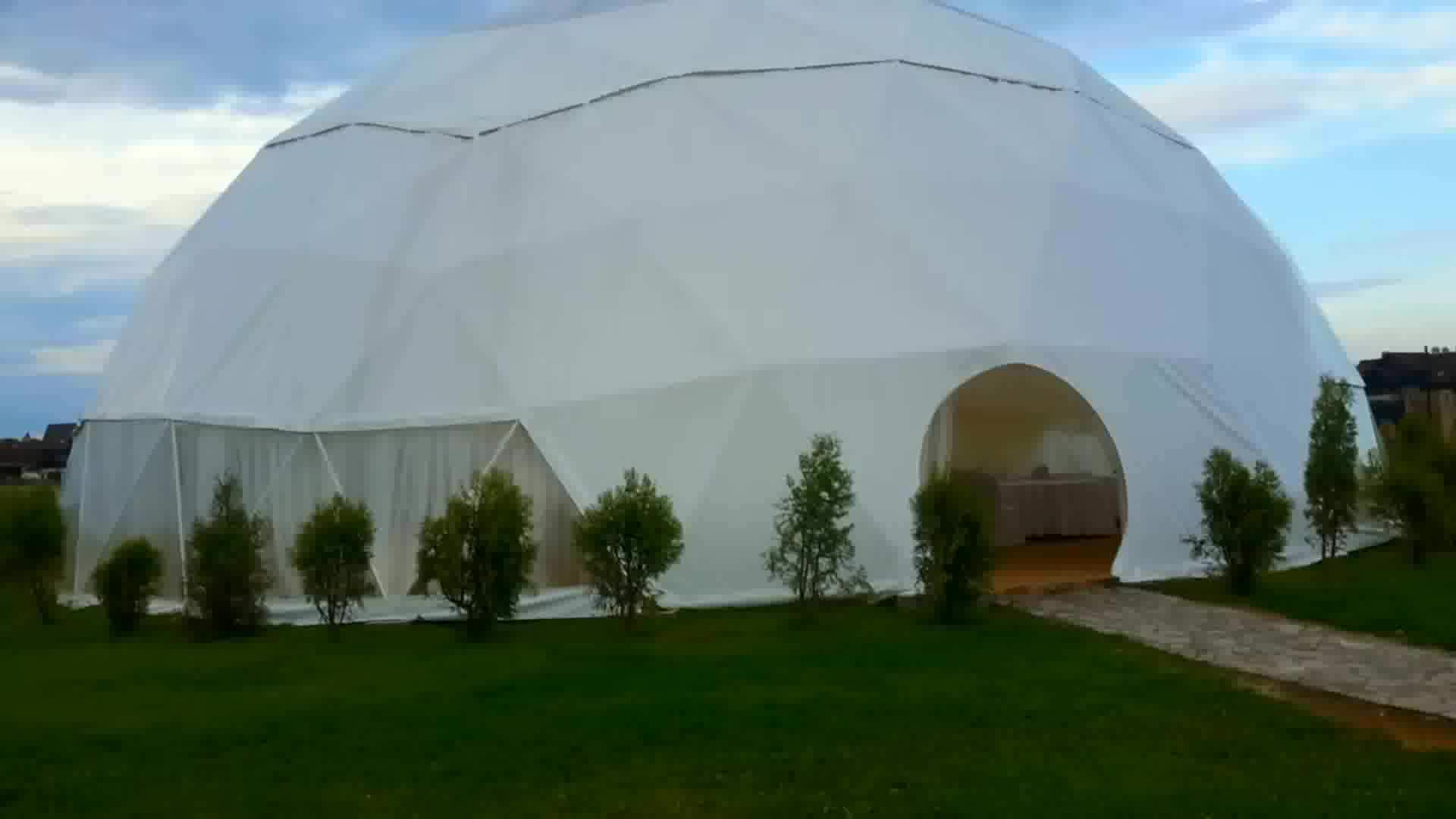 Top selling PVC fabric coated diy party dome tent 30 meter c&er trailer tent : diy dome tent - memphite.com