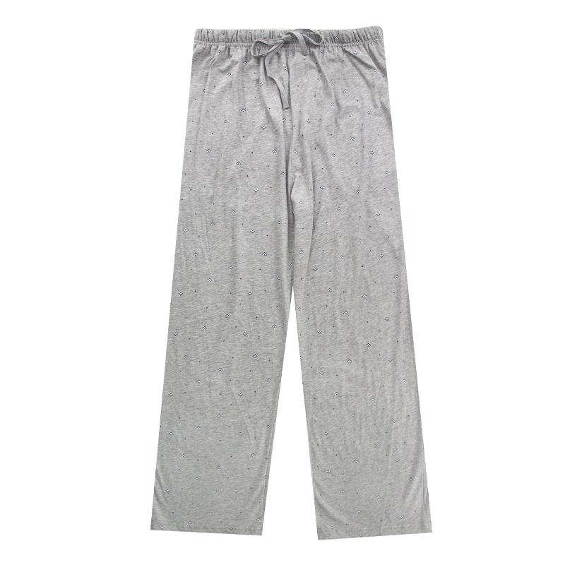 【三枪】夏季男士纯棉睡裤家居裤2条
